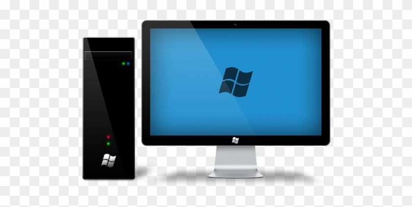 Windows Desktop Computer Png - Apple Led Cinema Display #243965