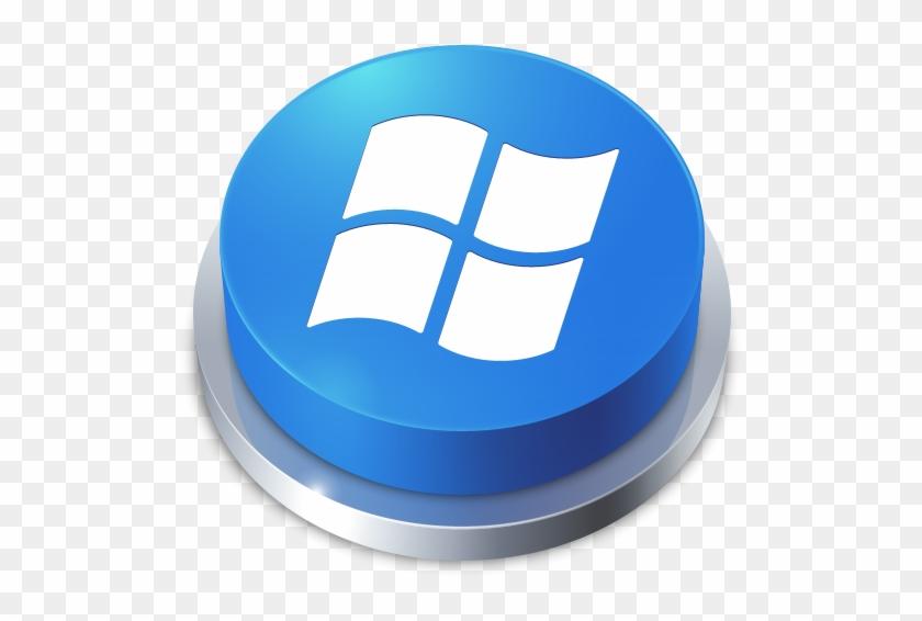 Perspective Button Window Icon, Thumb - Icone Windows 10 Ico #243973