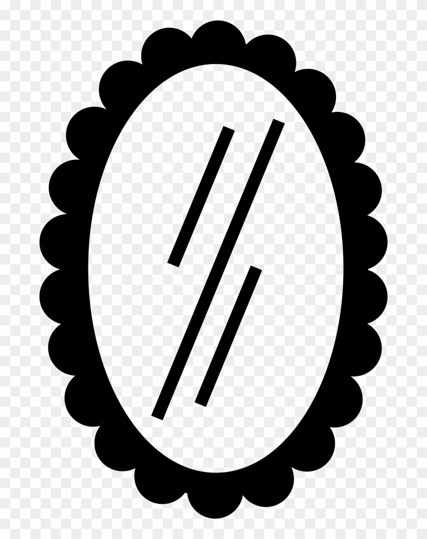 Mirror Clipart Oval Shaped Object - Mirror Clipart Oval Shaped Object #1560449