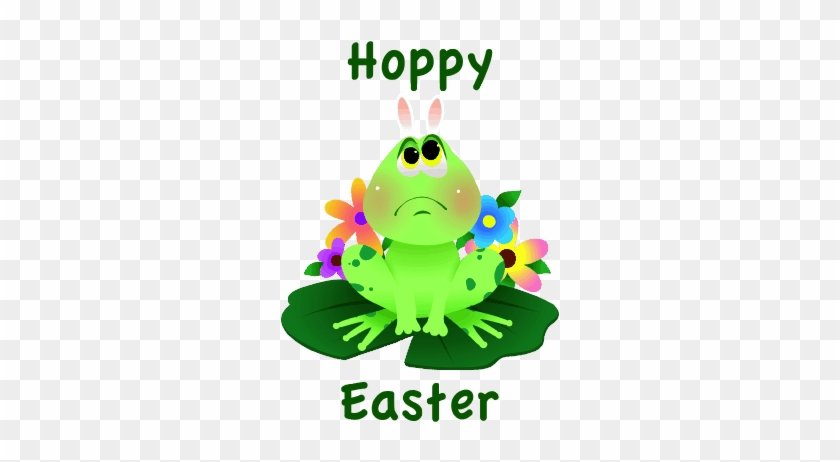 picture about Printable Easter Card identified as Printable Easter Frog Easter Card - Printable Easter Frog