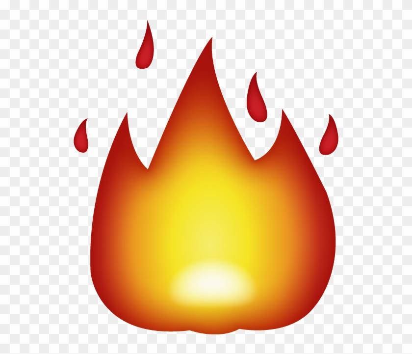 Download Ai File - Fire Emoji Transparent #244379