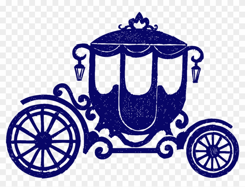 Carriage Horse-drawn Vehicle Wheel Clip Art - Cinderella Carriage Vector #244634