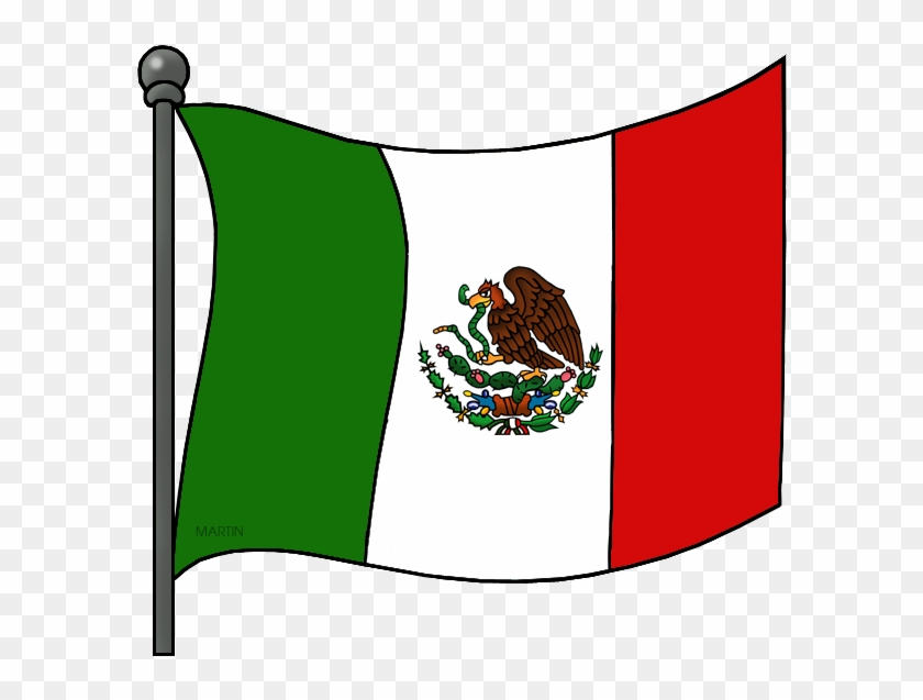 Mexican Flag - Mexican Flag Clipart #244767