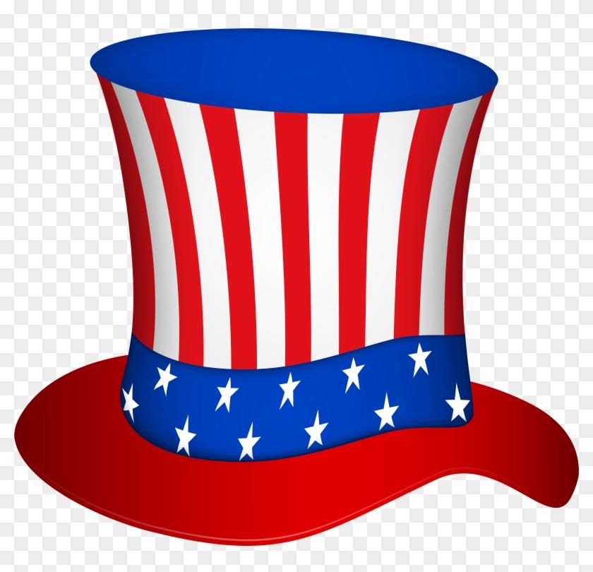 Uncle Sam Hat Png Transparent Clip Art Image - Uncle Sam Hat Png Transparent Clip Art Image #244784