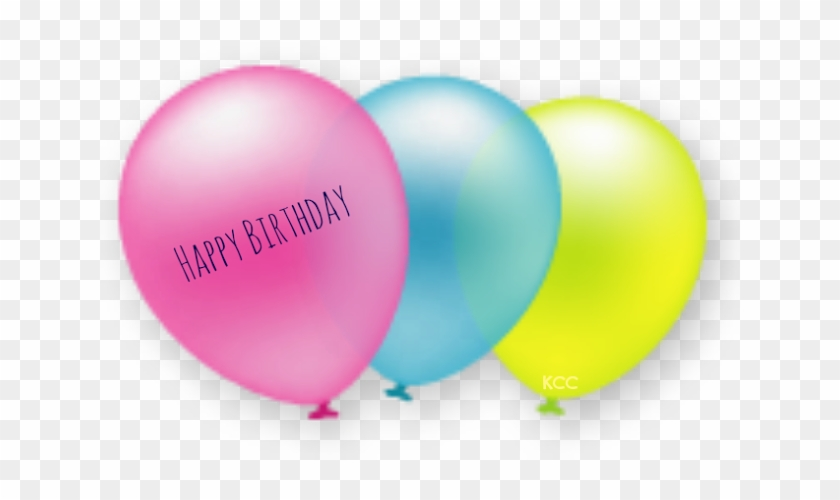 Birthday Party Balloon Clipart - Party Balloons Cute Png #245287