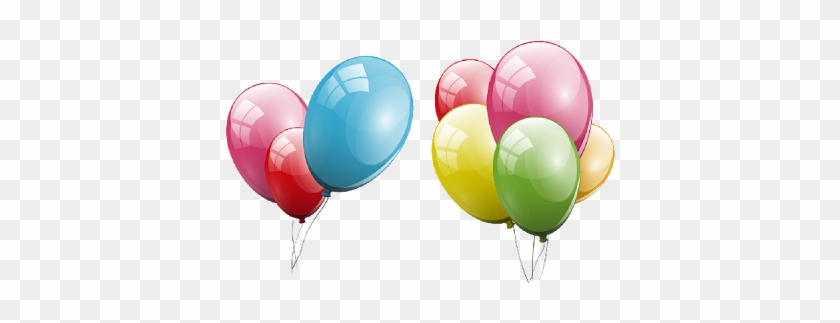 Best Balloons Clipart Transparent Background Party - Party Balloons Transparent Background #245476