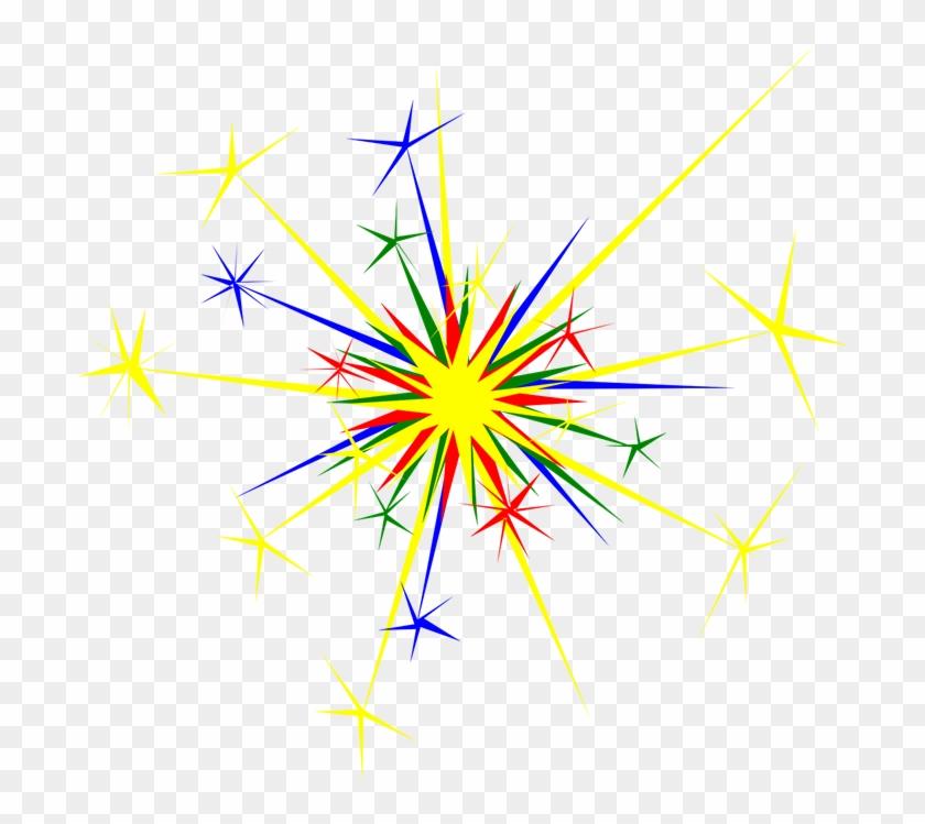 New Year Clip Art Fireworks Clip Art Downloadclipart - New Year's Fireworks Clipart #245490