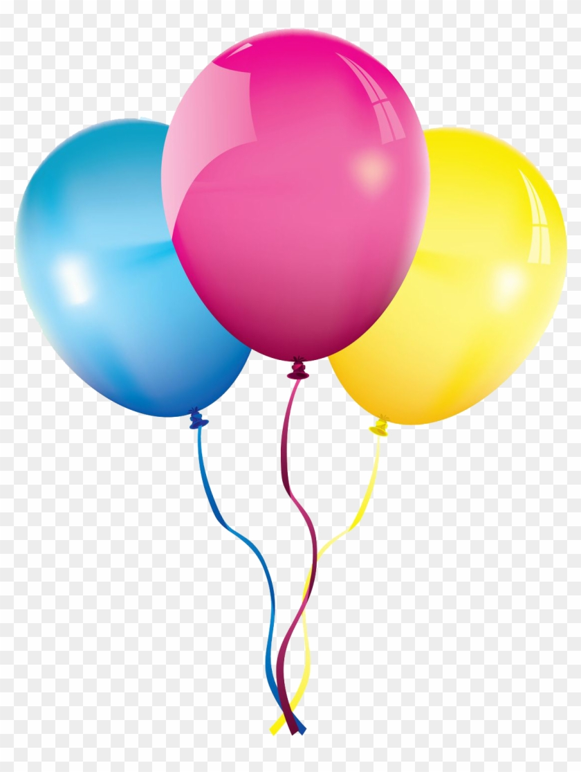 Birthday Balloon Party Clip Art - Birthday Balloons Images Png #245642