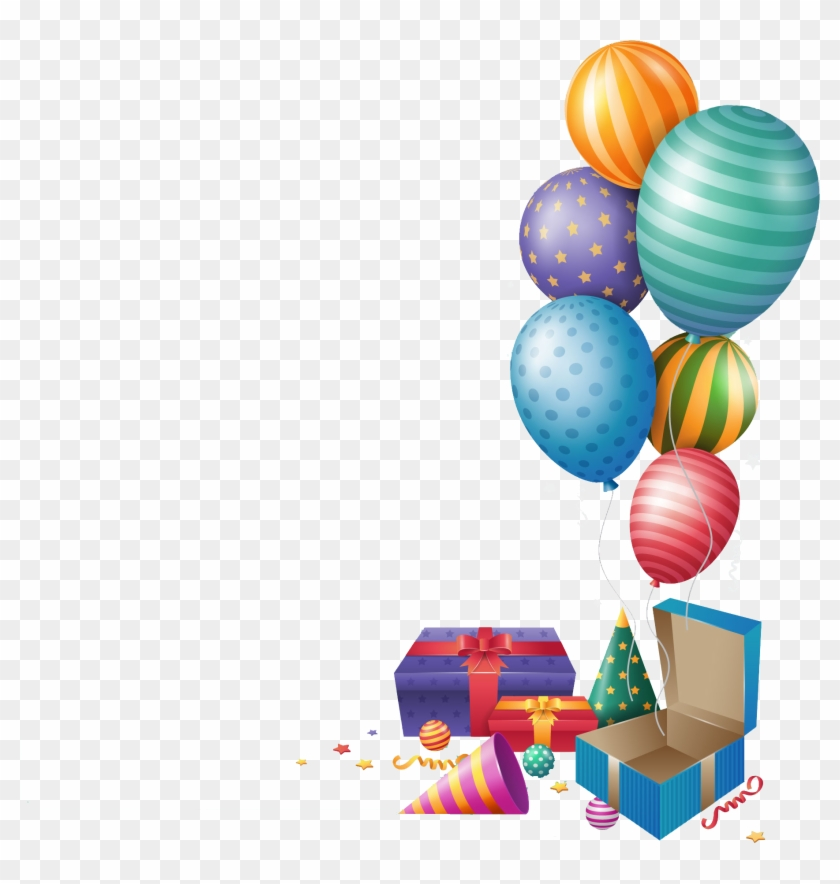 Happy Birthday Png Balloons Gift