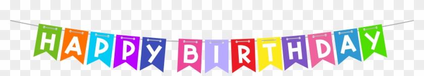 Birthday Clip Art Happy Birthday Banner Transparent Background