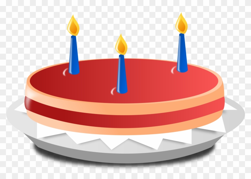Birthday Cake Black And White Clip Art Free Download Transparent