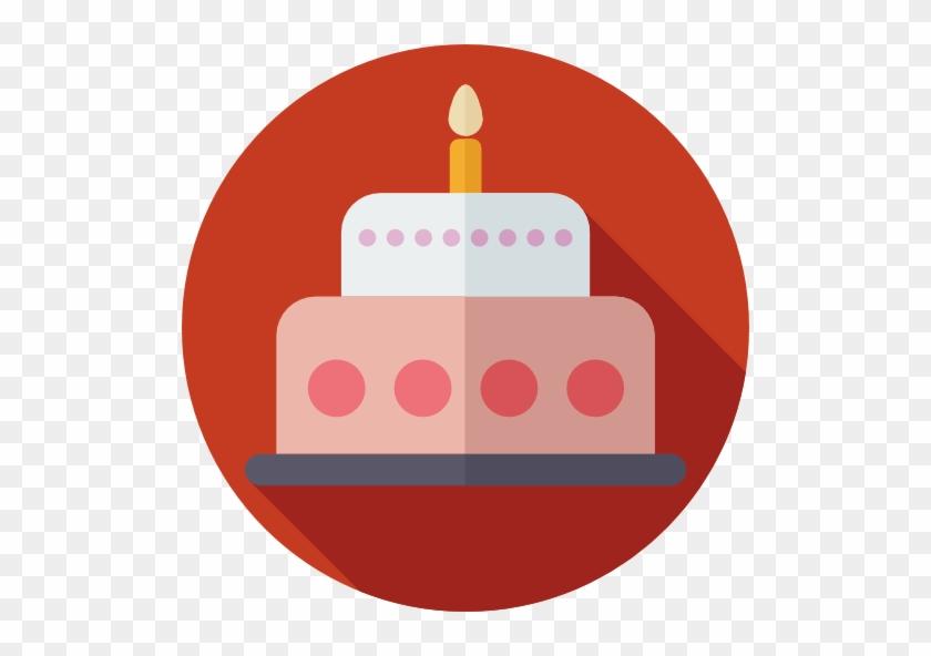 Birthday Cake Free Icon Birthday Flat Icon Png Free Transparent