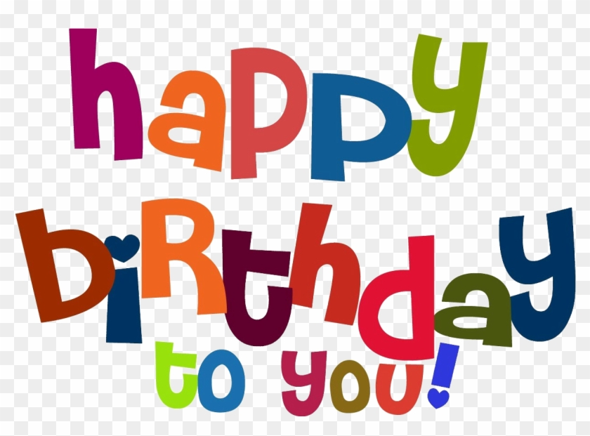 Happy Birthday Png Happy Birthday To You Letra Free Transparent Png Clipart Images Download