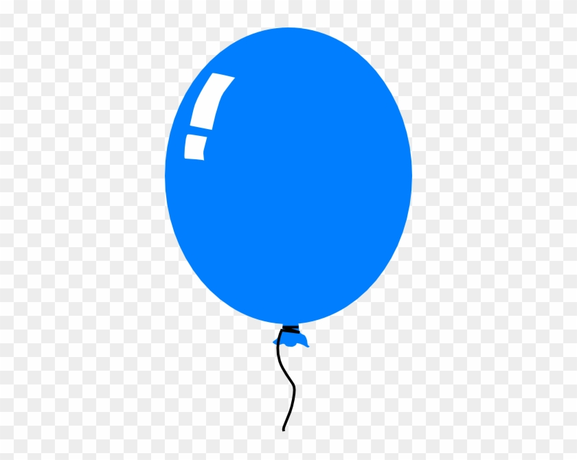 Blue Balloon Clipart Png #246275