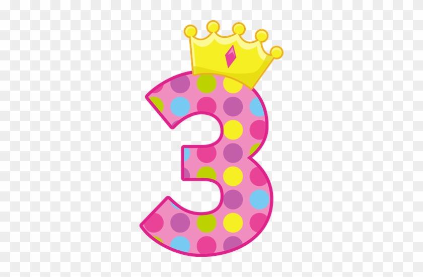 Princesas E Príncipes - 3rd Birthday Princess Crown Ornament (round) #246331