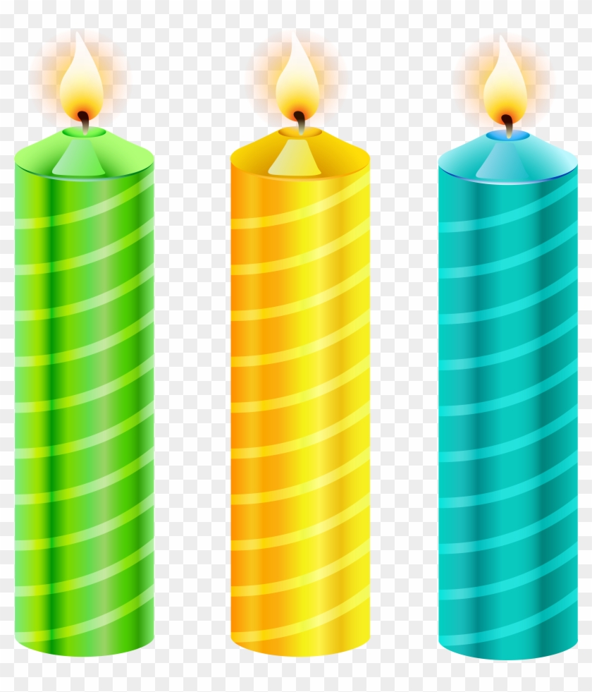 Birthday Candles Png Vector Clipart Picture