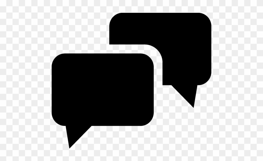 Bubble Clipart Black Speech - Text Bubble Icon Png #246462