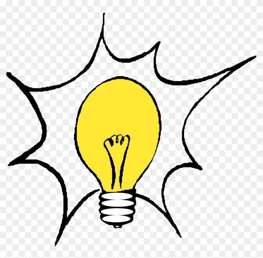 Not Thinking Cliparts - Light Bulb Clip Art #246528