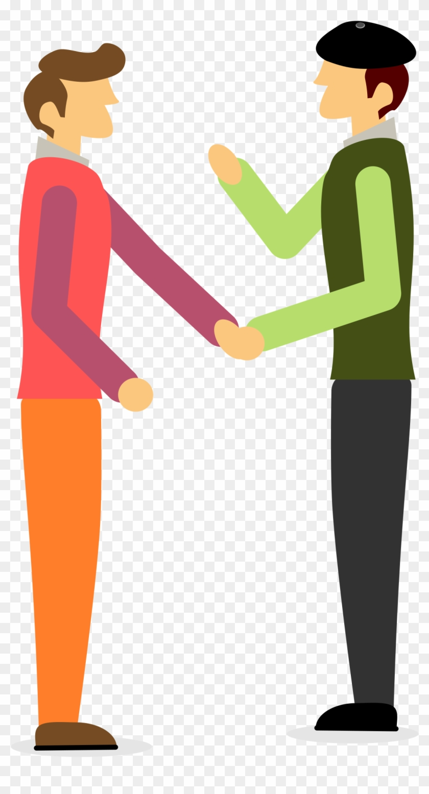 Clipart - People Shaking Hands Clipart #246615