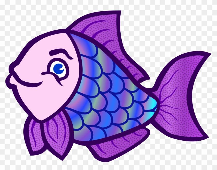 Fish - Coloured - Colorful Fish Clipart #246803