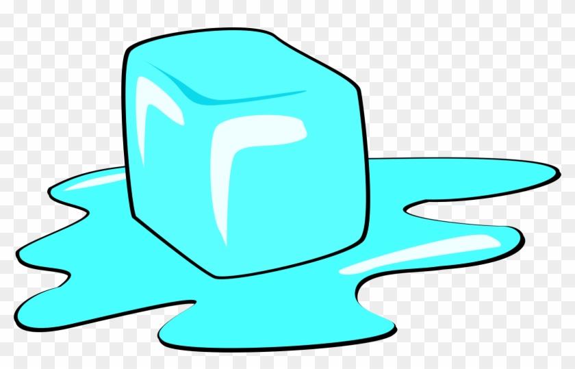 Ice Cube Clip Art At Clker Com Vector Clip Art Online - Ice Cube Melting Animation #246872