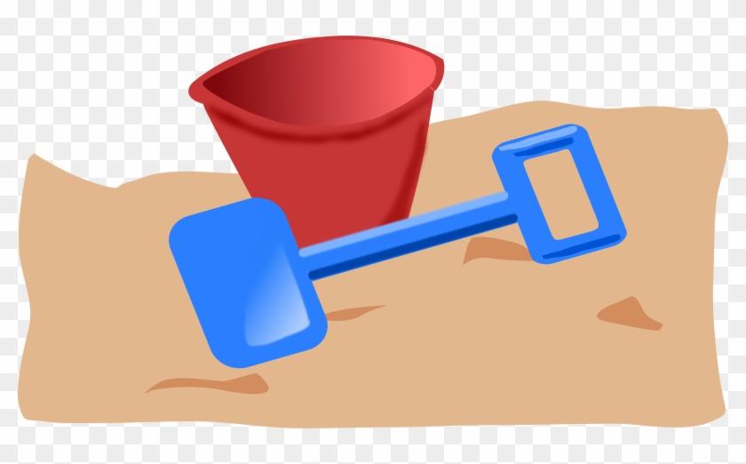 Free Bucket And Spade 2 - Cartoon Bucket And Spade #247004