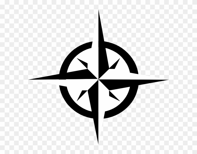 Nautical Star Clip Art - Compass Rose Clip Art #247229