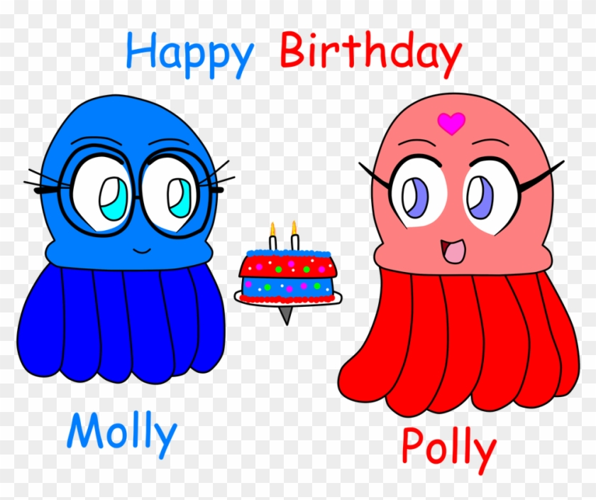Happy Birthday Polly And Molly By Benthecutesquirrel - Blue Eyes Birthday #1589193