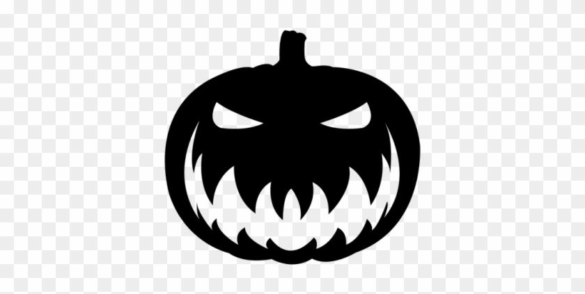 Png Dlpng Pumpkin Face - Pumpkin Halloween Vector Png #1590825