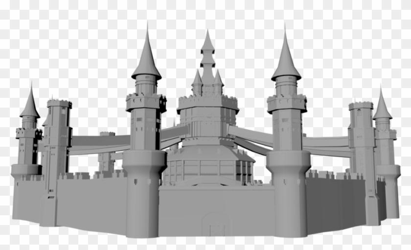 Hyrule Twilight By Vaatry - Hyrule Castle Twilight Princess #1590843