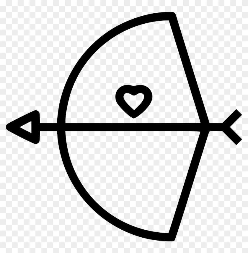 Bow Arrow Cupid Comments - Heart #1591059