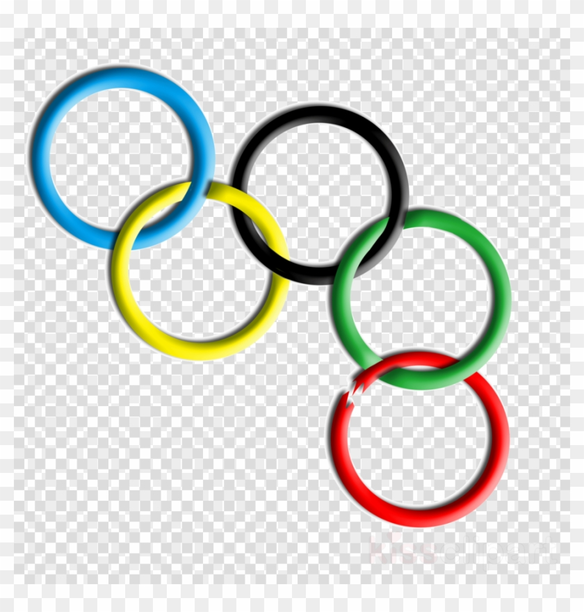 Olympic Symbols Clipart Olympic Games 2014 Winter Olympics - Transparent Background Santa Claus Hat Transparent #1591332