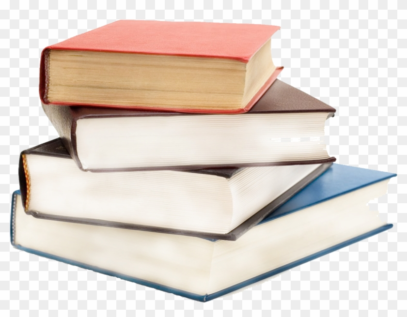 Book Clipart Stack - Transparent Background Books Png #1591335