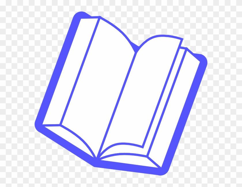 Blue Book Clip Art At Clker Com Vector Clip Art Online - Imagens De Livros Com Fundo Transparente #1592224