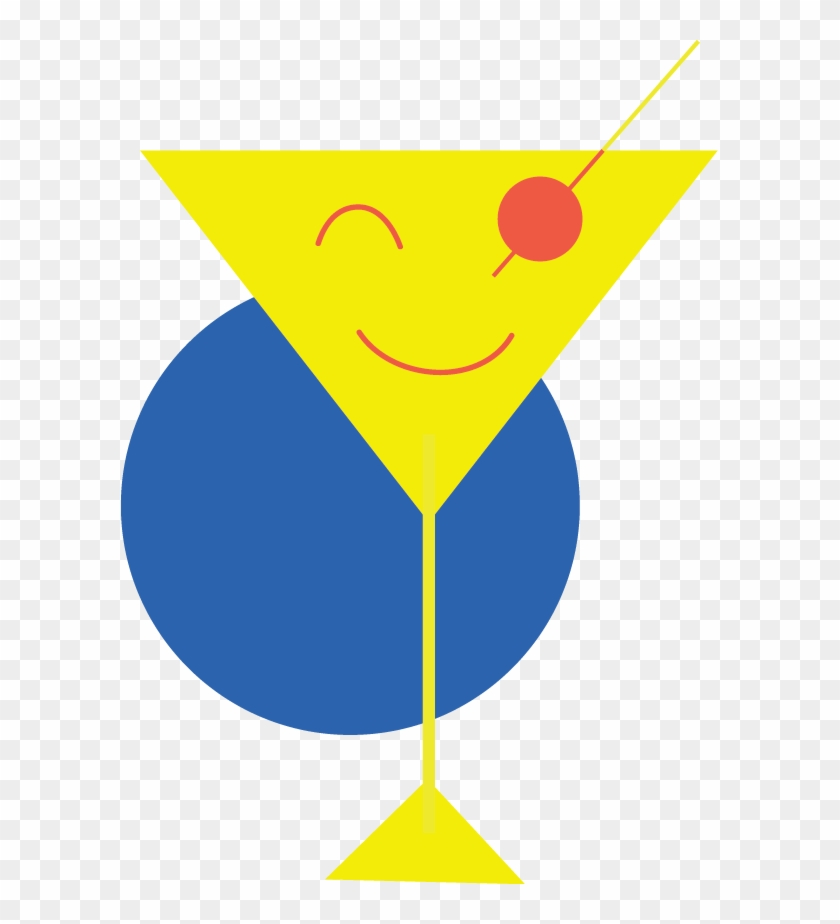 Pursuit Of Happy Hour Logo - Illustration #1592460