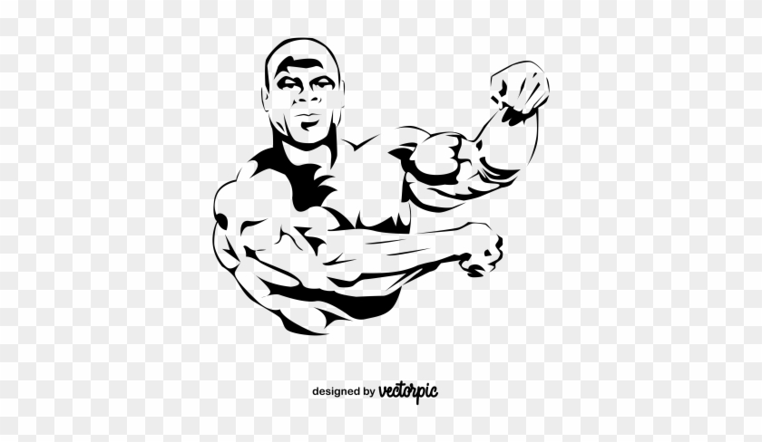 Gym Body Builder Clipart Free Vector Cartoon Free Transparent Png Clipart Images Download