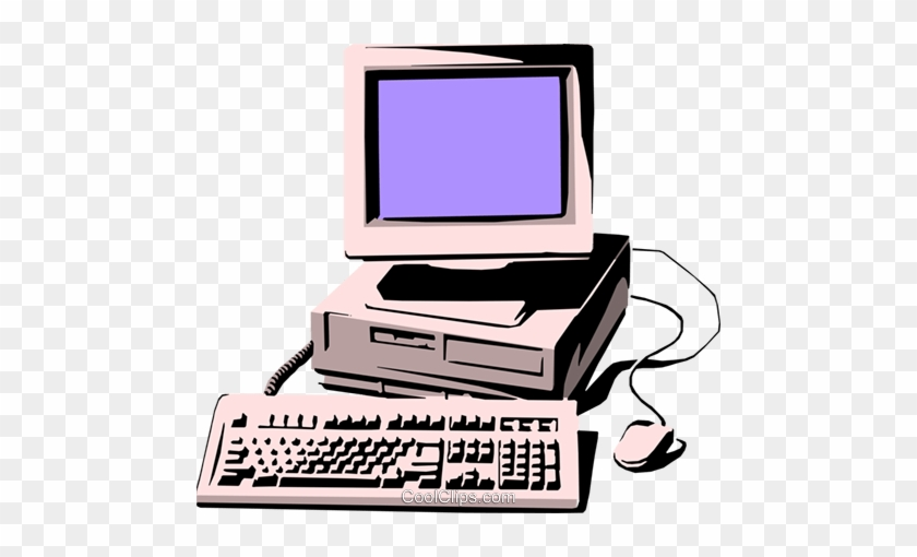 Personal Computer Royalty Free Vector Clip Art Illustration Computer And Mouse Free Transparent Png Clipart Images Download