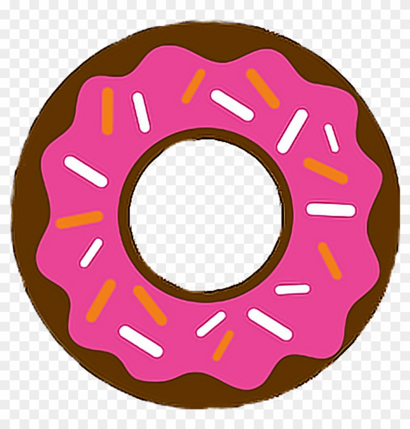 Donut Food Sweets Tasty Freetoedit - 2d Donut #1595943