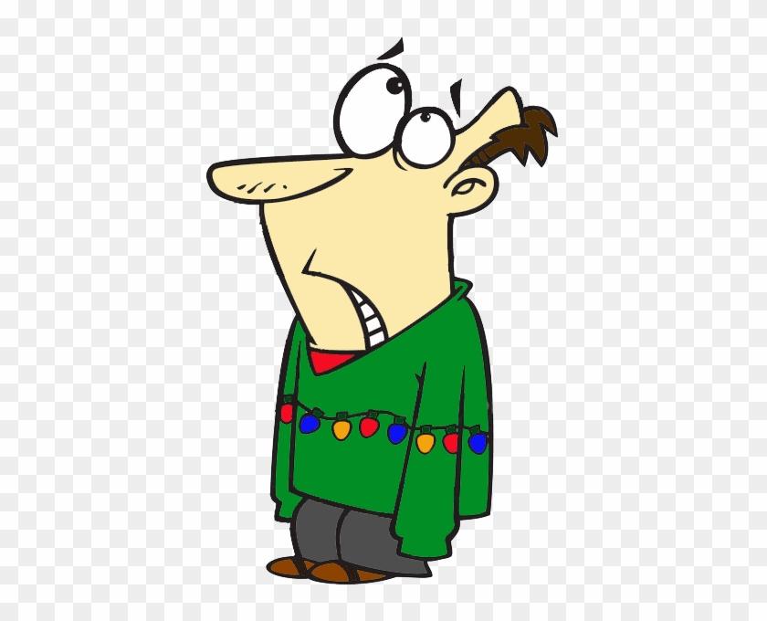 Ugly Christmas Sweater Cartoon.Ugly Sweater Day On Dec Christmas Sweater Cartoon Free