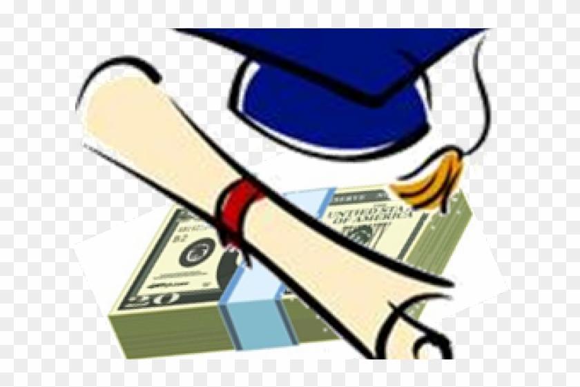 Oregon Clipart Graduation - Graduating High School Cartoon #1596568