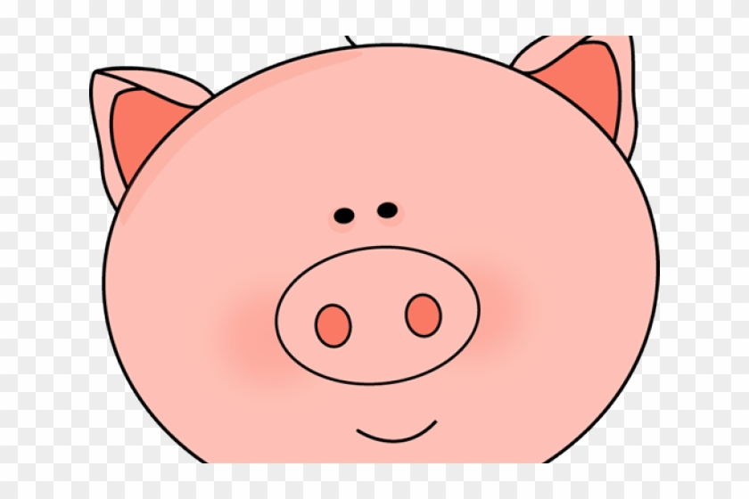 Pig Clipart Face - Clip Art Black And White Pig Face #1597866