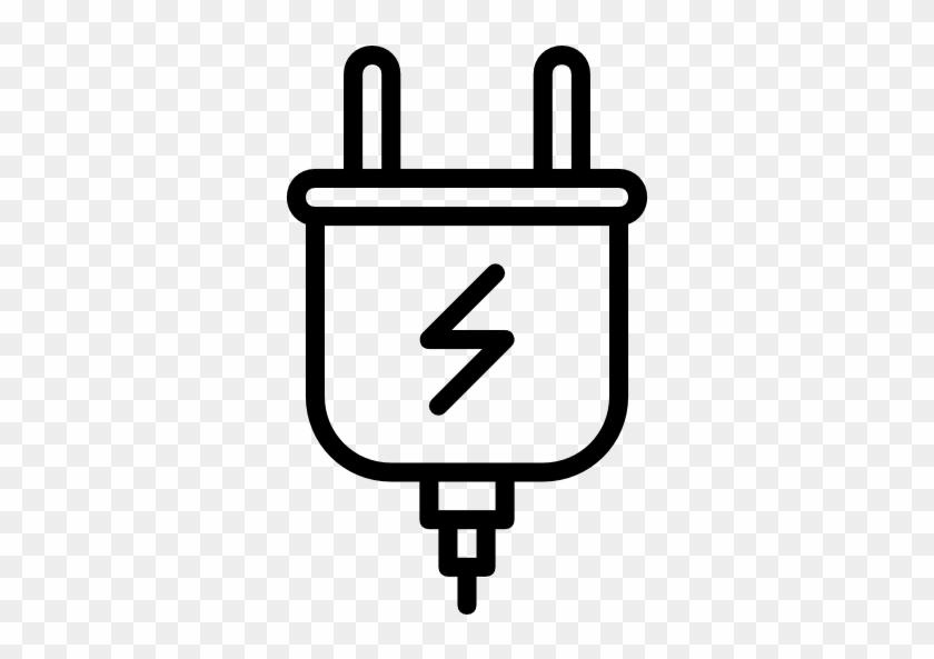 512 X 512 8 - Power Plug Png White #1598199