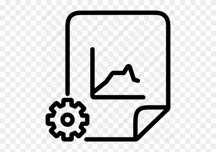 Download Gear Chart,settings Icon - Library Programing Icon #1599141