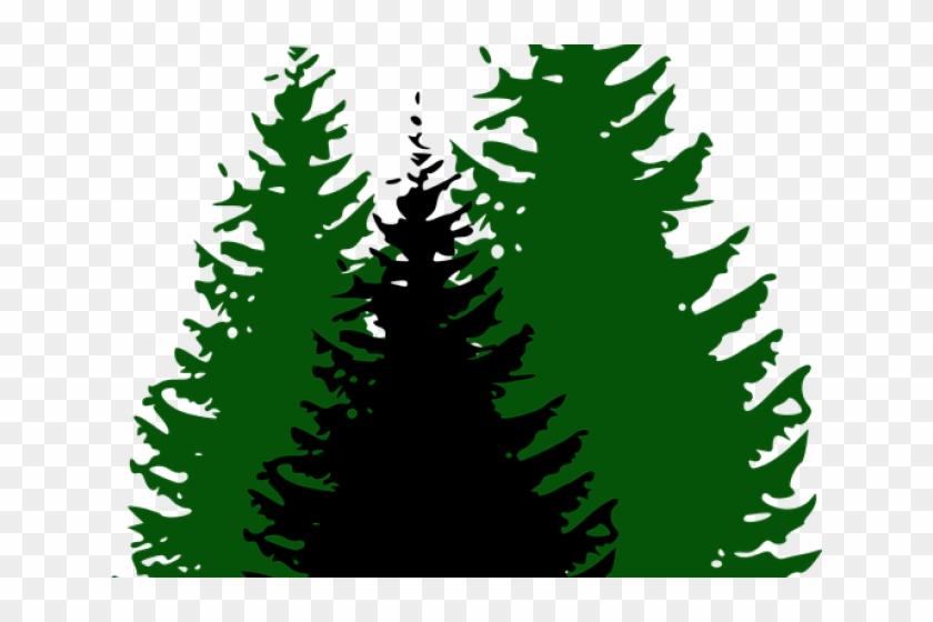 Wood Clipart 3 Pine Tree - Pine Trees Clip Art Free #1599794