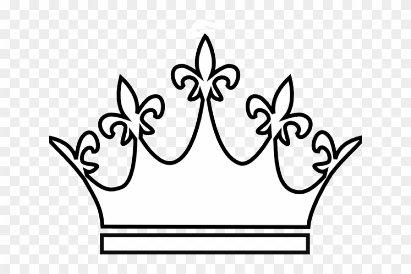 King Clipart Outline 26 600 X 437 Free Clip Art Stock - Queen Crown Drawing Png #1600844