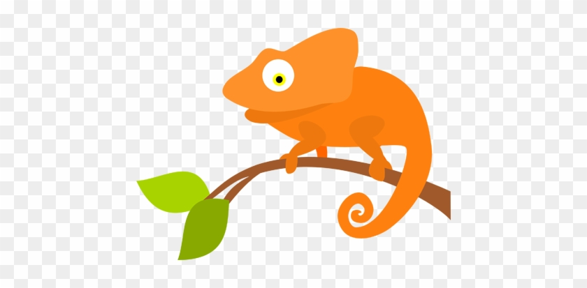 Png Library Download Chameleon And Branch Cartoon Png Free Transparent Png Clipart Images Download