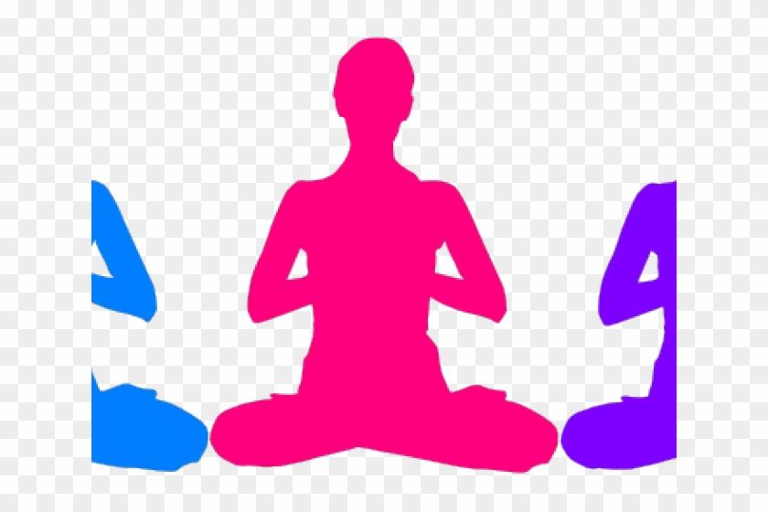 Meditation Clipart Namaste Yoga Person Meditating Transparent Background Free Transparent Png Clipart Images Download