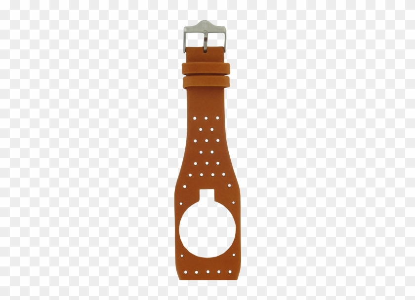 Orange Perforated Smooth Leather For Big Tv / Mythic - Beer Bottle #1604170