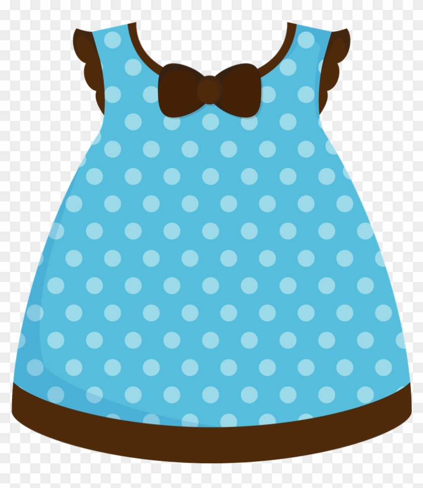Clipart Baby - Baby Girl Dress Clipart #247250
