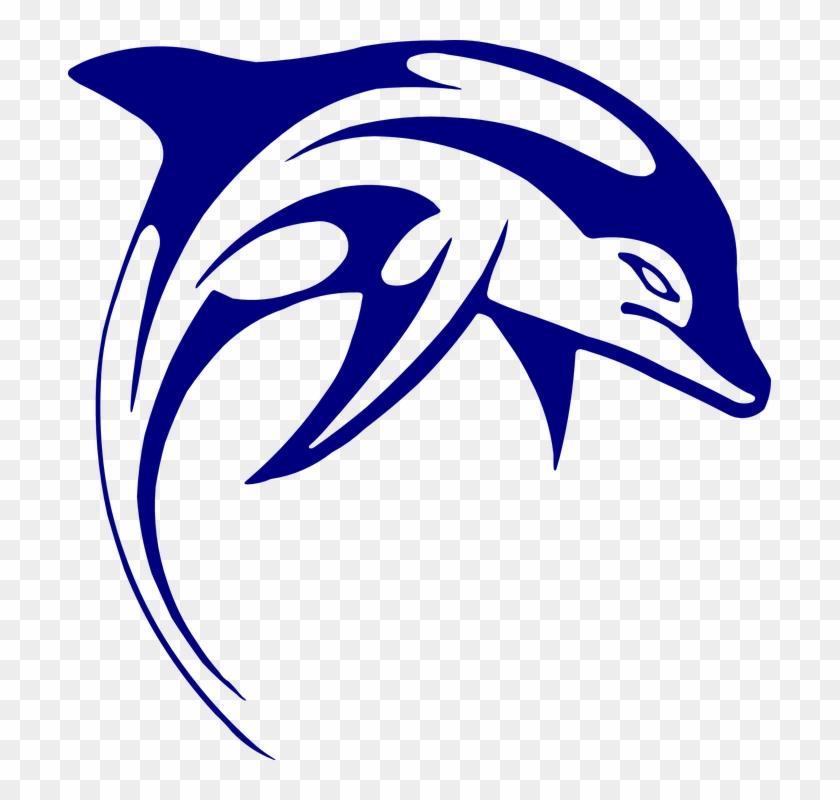 Dolphines Clipart Logo - Dolphin Art #247473